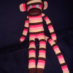 Finished Sock Monkey!