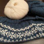 Lanatus - knitting the yoke