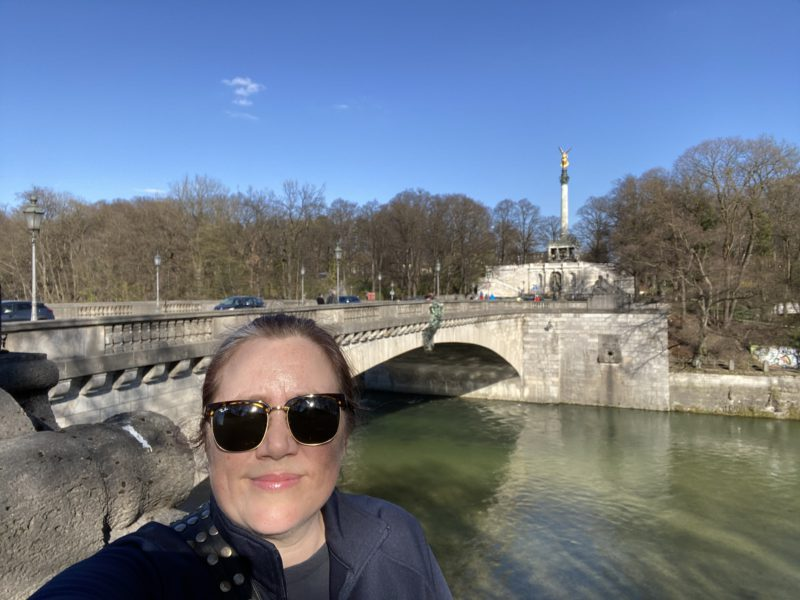 Me by the Isar
