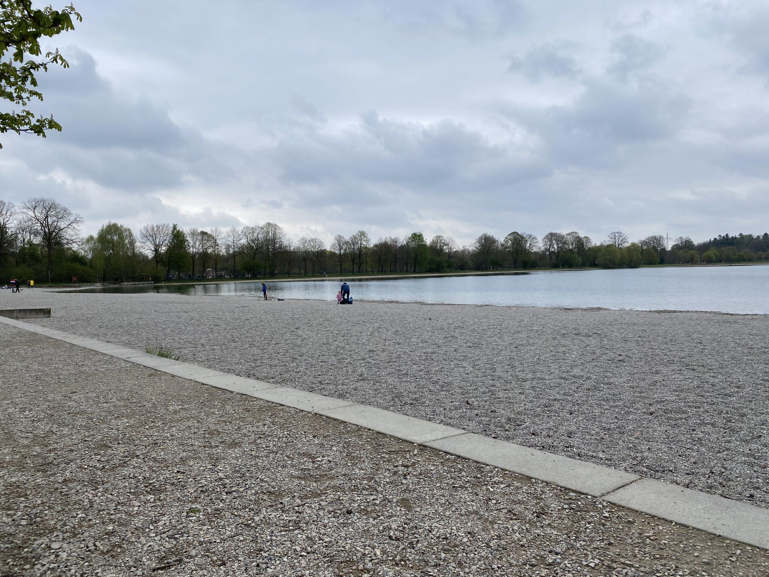 Beach at the Lußsee